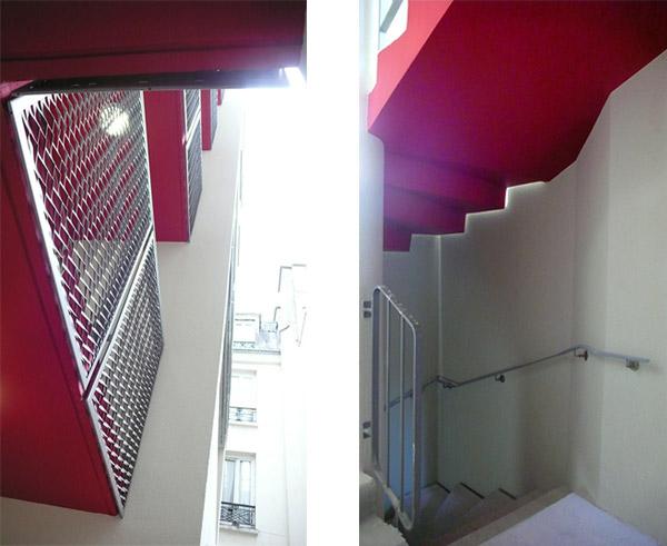 Chantier d'un immeuble de 9 logements, Cité Joly à Paris 11e