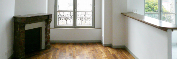 Restructuration de deux immeubles des années 20 (24 logements sociaux) à Enghien-les-Bains
