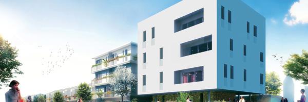 Construction de 16 logements collectifs et 12 maisons individuelles aux Mureaux