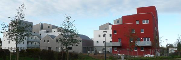 40 logements en accession aidée à Rennes, ZAC de Beauregard