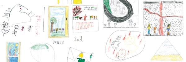 Participation à l'action initiée par l'Ordre des Architectes ; séances avec des élèves de CE2 de l'école élémentaire André Diez à Saint-Denis, construite par André Lurçat