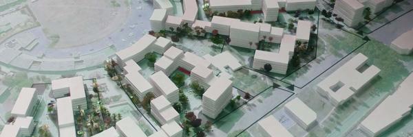 Rénovation urbaine du quartier des Hautes Noues de Denis Honegger construit en 1965 à Villiers-sur-Marne