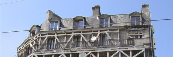 Restructuration d'un immeuble haussmannien pour un programme de logements sociaux, Boulevard Poniatowski, Paris 12e
