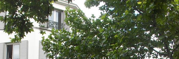 Réhabilitation de 4 logements sociaux et 1 local d'activités, 126 avenue de Saint-Ouen / passage Daunay Paris 17e, 2010