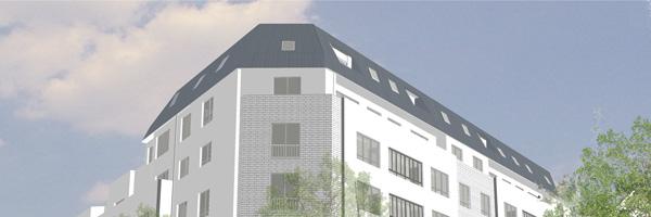 Rénovation des façades d'un immeuble « 1980 » à Paris 20e