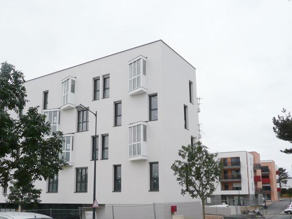 Évolution des travaux des Jardins de Néroli à Rennes, 2012