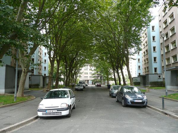Cité Paul Eluard, construits en 1955 par André Lurçat à Saint-Denis