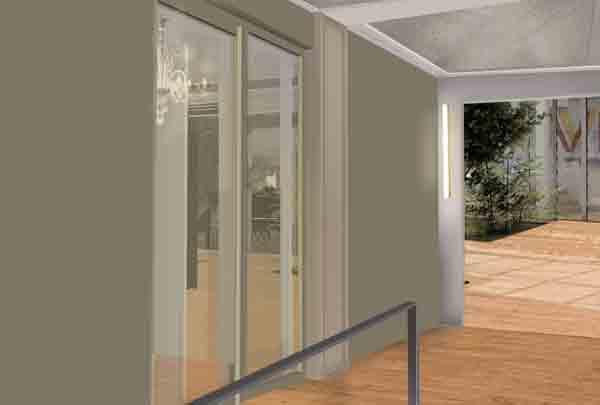 Opération de transformation d'un immeuble de bureaux en logements, création d'un commerce et d'un local d'activité (plan climat), 75008
